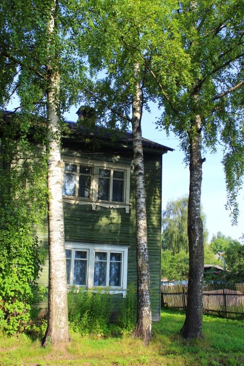 Une Datcha russe, maison typique