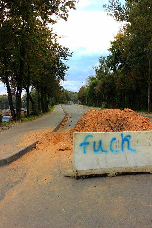 Quand on dit que les russes ne parlent pas anglais, c'est faux ! Quelle prose...